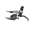 Shimano SLX BR-M675 Scheibenbremse Vorderrad Ice-Tech mit F03C Metall schwarz/silber